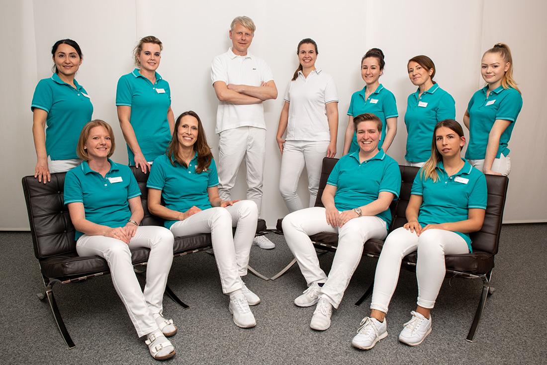 Praxisteam Zahnarzt Dr. Leister Augsburg